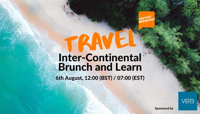 Travel Content Breakfast