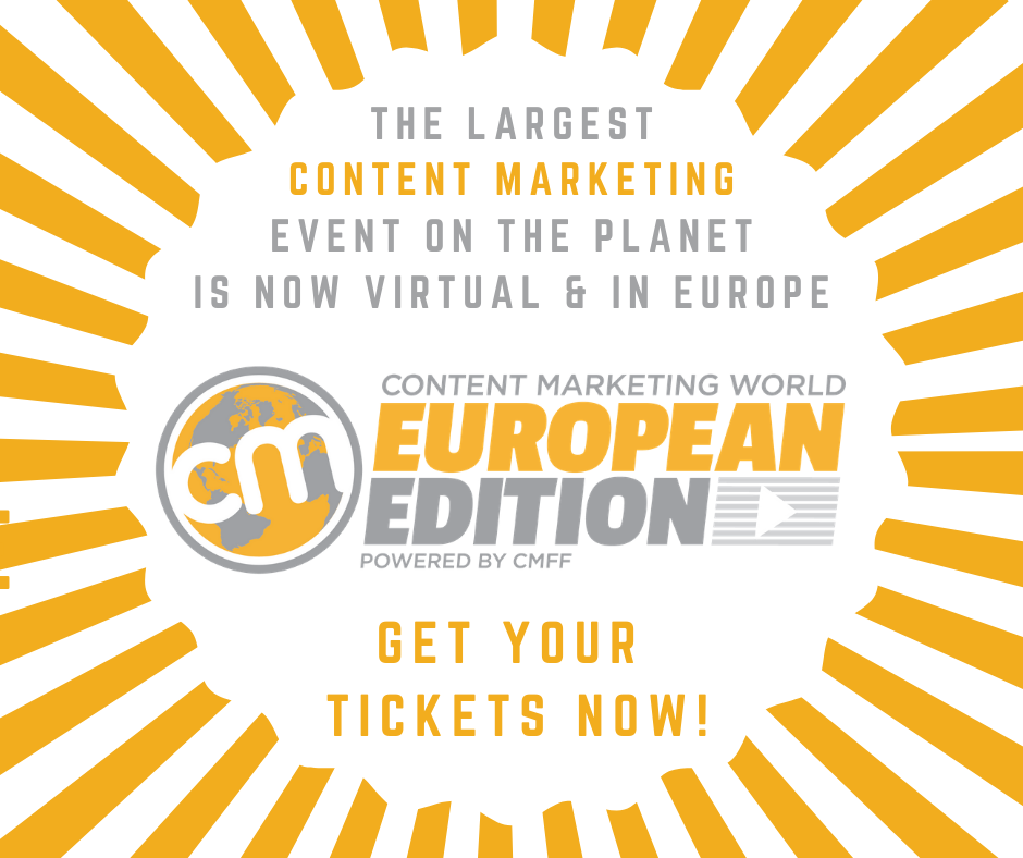 Content Marketing World graphic with logo