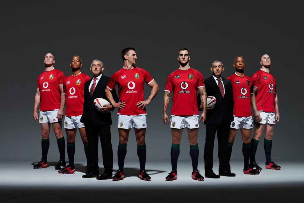 Vodafone app cover of 4 lions and manager