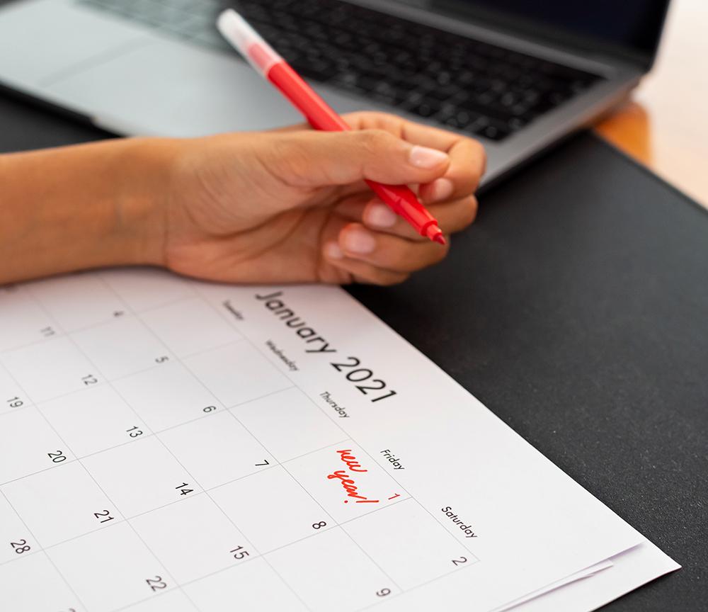 Strategy Calendar 2021