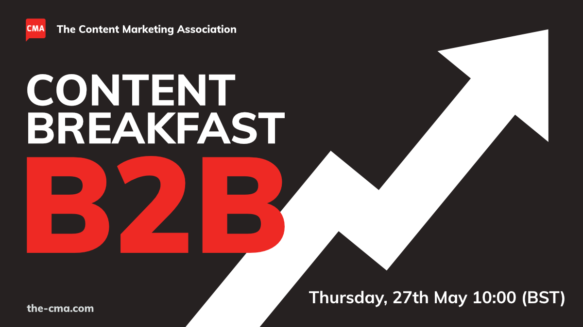 B2B Content Breakfast event