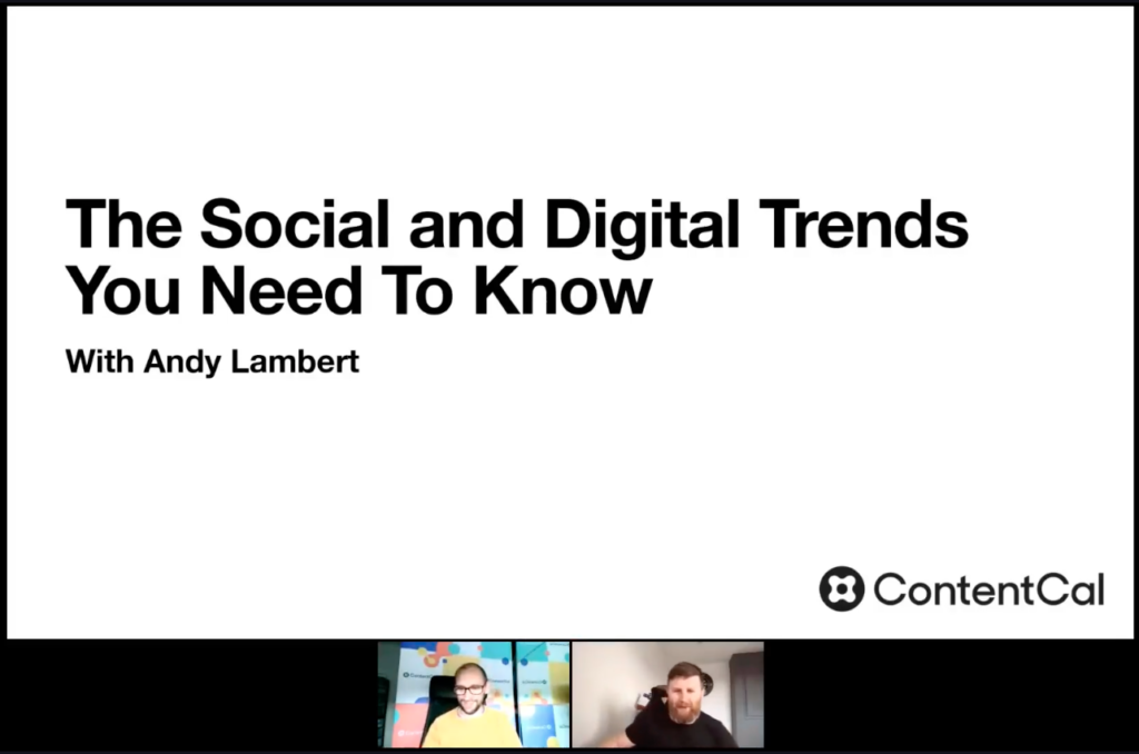 The social and digital trends you need to know