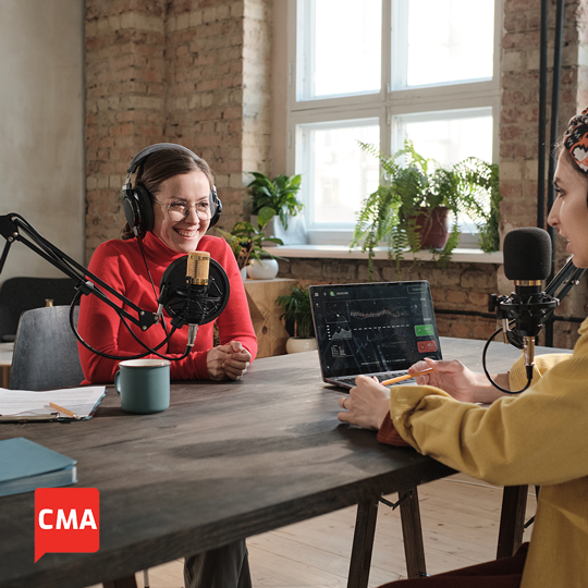 CMA Podcast Recording