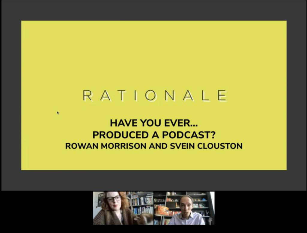 Rationale Webinar