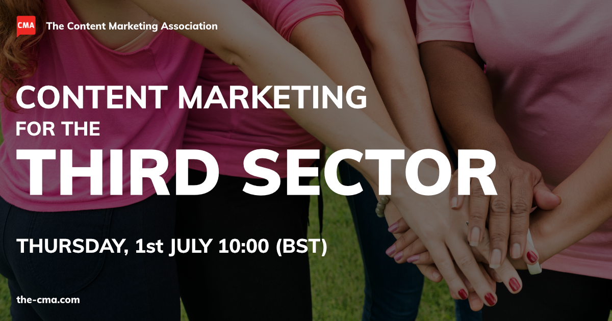 Content marketing for the third sector