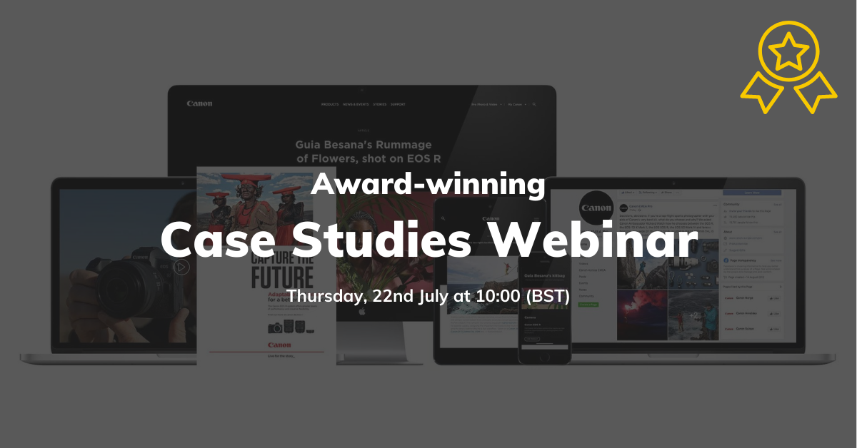 award winning case studies webinar